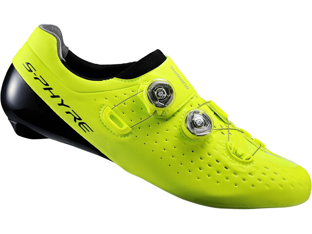 Shimano S-Phyre SH-RC9 schoenen geel